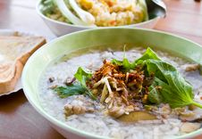 Gruel Rice Soup1 Royalty Free Stock Photography