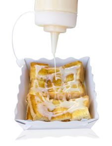 Free Toast With Butter Stock Photos - 23007953