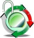 Free Button Download Stock Photos - 23010223