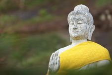 Free View Of Buddha Statue In Thailand Stock Photos - 23011353