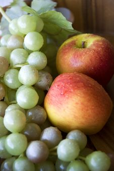 Free Fruits In Tray Stock Images - 23013114