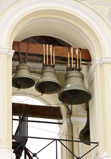 Free Bell Tower Of The Orthodox Church Royalty Free Stock Photo - 23018615