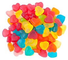 Free Heart-shaped Candies Stock Image - 23019771