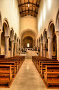 Free Interior Of Bevagna Cathedral Stock Images - 23024784