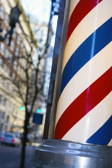 Free Barber Pole Stock Image - 23021201