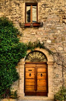 Free Door And Window - HDR Royalty Free Stock Photos - 23024338