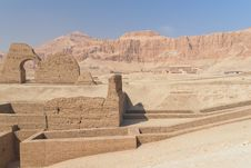 Free Hatchepsut Temple Ruins &x28; Egypt&x29; Royalty Free Stock Photography - 23025257