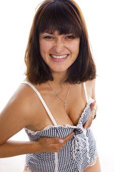 Free Sexual Cheerful Asian Yung Women Stock Photo - 23025820