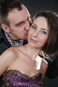Free Loving Couples Royalty Free Stock Photos - 23027488