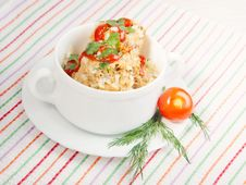 Free Meatballs With Rice Stock Image - 23028201