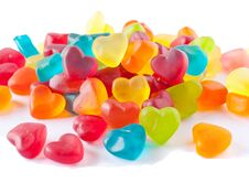 Free Heart-shaped Candies Stock Image - 23028431