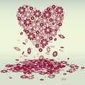 Free Flower&x27;s Heart Stock Images - 23030364