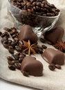 Free Chocolate Heart Royalty Free Stock Photo - 23034755