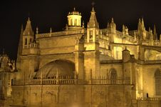 Free Cathedral In Seville Royalty Free Stock Photography - 23033327