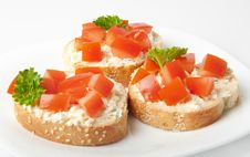 Free Appetizers Stock Image - 23034911