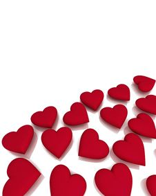 Free Hearts Shapes Stock Images - 23036654