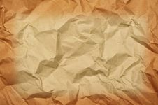 Free Crumpled Paper Stock Images - 23037594
