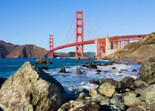 Free Golden Gate Bridge Stock Images - 23038124