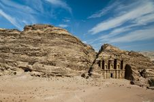 Free The Monastery, Petra's Most Imposing Monument Royalty Free Stock Photo - 23039785