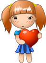 Free Valentine Girl Stock Image - 23046891