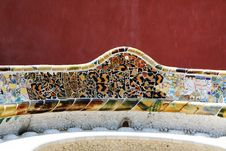 Free Park Guell Royalty Free Stock Photography - 23043257