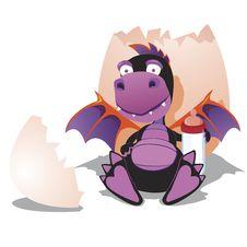 Free Black Dragon Royalty Free Stock Photo - 23043825