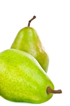 Free Green Pears. Stock Photo - 23044610