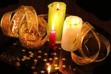 Free Candle Still Life Stock Photos - 23045323