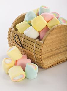 Free Marshmallows Royalty Free Stock Image - 23046636