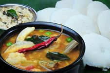 Free Idli Sambhar Stock Photos - 23046683