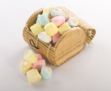 Free Marshmallows Royalty Free Stock Photography - 23046707