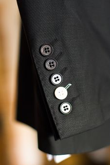 Sleeves Buttons Royalty Free Stock Images
