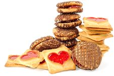 Free Chocolate Cookies Stock Photography - 23049052