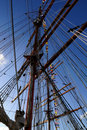 Free Largest Tall Ship Rigging Royalty Free Stock Photos - 23055238