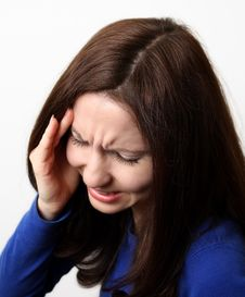 Free Strong Headache Royalty Free Stock Photo - 23051065