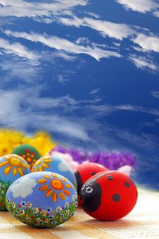 Free Easter Egg Royalty Free Stock Photo - 23056595