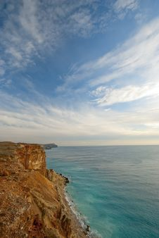 Free Cliffs On The Crimean Royalty Free Stock Image - 23056926