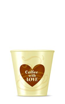 Coffee Cup/ Love Royalty Free Stock Photo