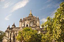 Free Thatbyinnyu Temple, Bagan, Myanmar Stock Image - 23057601