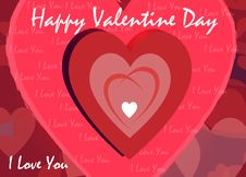 Free Valentine Day Greeting Stock Image - 23058131