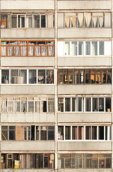 Free Balconies Royalty Free Stock Images - 23058539