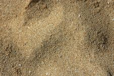 Sand And Small Pebbles Royalty Free Stock Photos