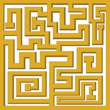 Labyrinth Stock Image