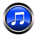 Free Music Button Stock Image - 23061901