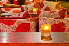Free Night View Of Cosy Bar Royalty Free Stock Photo - 23060025