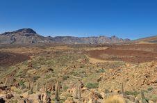 Free Volcanic Desert Landscape Stock Image - 23061811