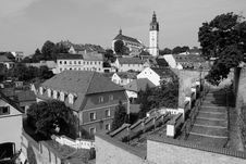Free Litomerice Black And White Royalty Free Stock Photography - 23062427