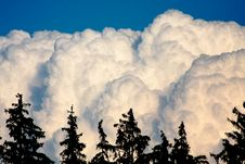 Free Huge White Clouds Stock Photo - 23062520