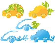Free Ecological Cars Royalty Free Stock Photography - 23063077