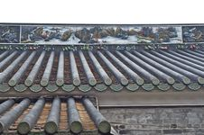 Free Chinese Roof Line Royalty Free Stock Image - 23063576